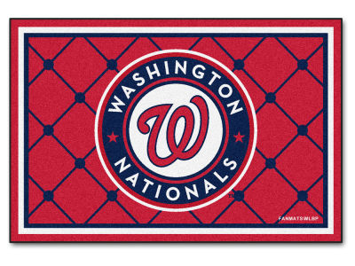 Washington Nationals Fan Mats 5x8 Area Rug