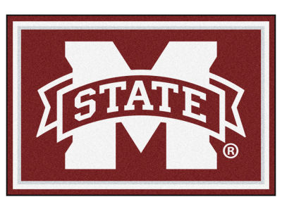 Mississippi State Bulldogs Fan Mats 5x8 Area Rug