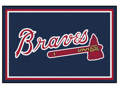 Atlanta Braves Fan Mats 5x8 Area Rug