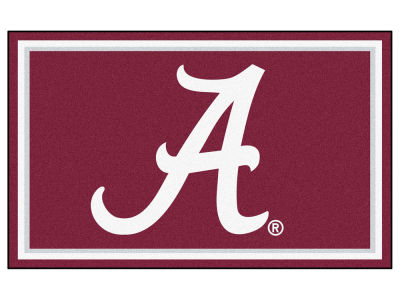 Alabama Crimson Tide Fan Mats 4x6 Area Rug