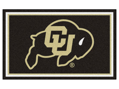 Colorado Buffaloes Fan Mats 4x6 Area Rug