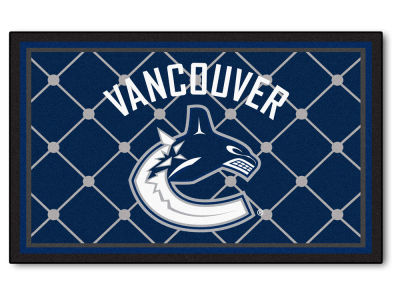 Vancouver Canucks Fan Mats 4x6 Area Rug