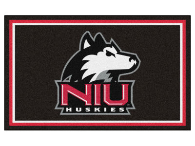 Northern Illinois Huskies Fan Mats 4x6 Area Rug