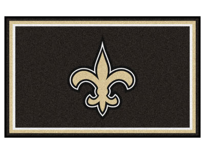New Orleans Saints Fan Mats 4x6 Area Rug