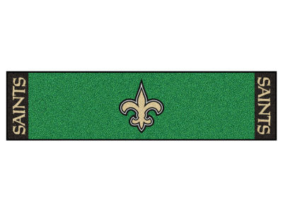 New Orleans Saints Putting Green Mat