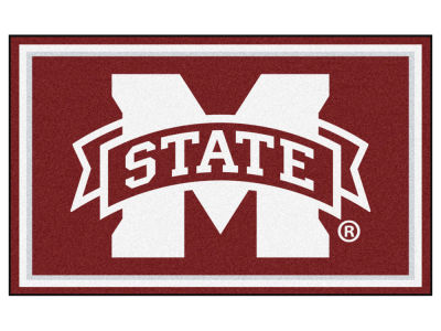 Mississippi State Bulldogs Fan Mats 4x6 Area Rug