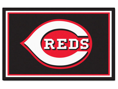Cincinnati Reds Fan Mats 4x6 Area Rug