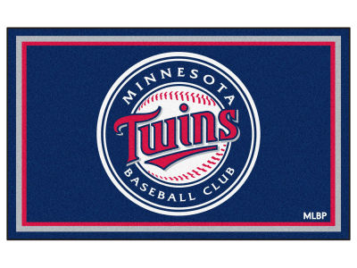 Minnesota Twins Fan Mats 4x6 Area Rug