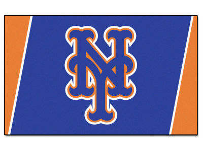 New York Mets Fan Mats 4x6 Area Rug