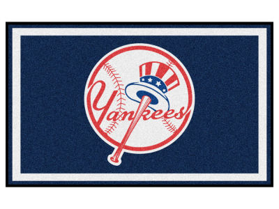 New York Yankees Fan Mats 4x6 Area Rug