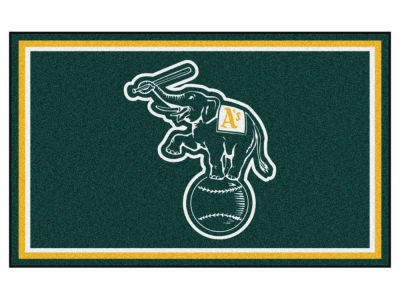 Oakland Athletics Fan Mats 4x6 Area Rug