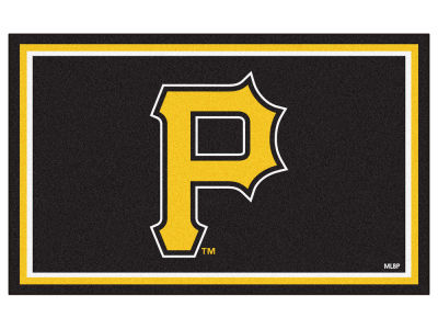 Pittsburgh Pirates Fan Mats 4x6 Area Rug