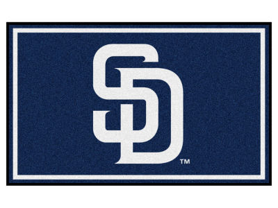 San Diego Padres Fan Mats 4x6 Area Rug
