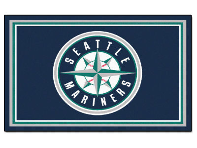 Seattle Mariners Fan Mats 4x6 Area Rug