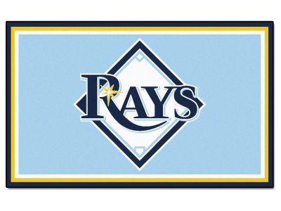 Tampa Bay Rays Fan Mats 4x6 Area Rug