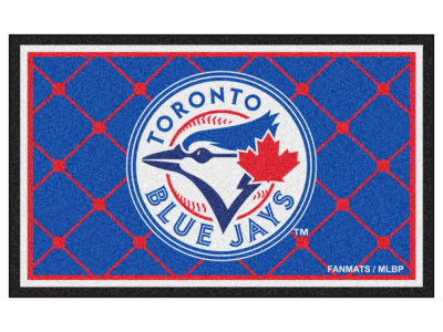 Toronto Blue Jays Fan Mats 4x6 Area Rug