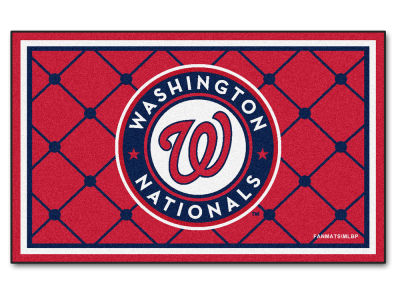 Washington Nationals Fan Mats 4x6 Area Rug