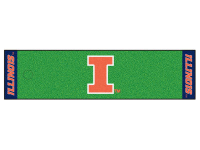 Illinois Fighting Illini Putting Green Mat