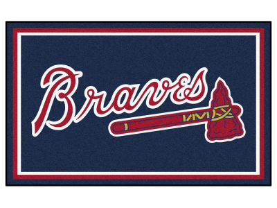 Atlanta Braves Fan Mats 4x6 Area Rug