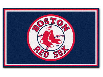 Boston Red Sox Fan Mats 4x6 Area Rug