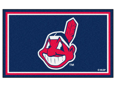 Cleveland Indians Fan Mats 4x6 Area Rug