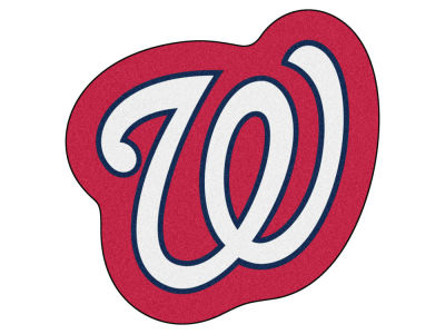 Washington Nationals Fan Mats Mascot Mat