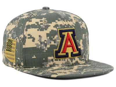 2059799e615b2 Arizona Wildcats Zephyr NCAA Camo Ripstop Snapback Cap