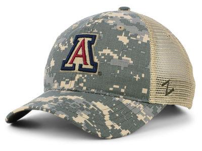 a7567f4fcad2c Arizona Wildcats Zephyr NCAA Camo Ripstop Mesh Cap