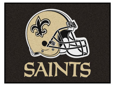 New Orleans Saints Fan Mats All Star Floor Mat