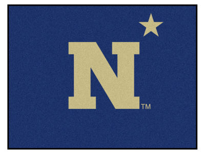 Navy Midshipmen Fan Mats All Star Floor Mat