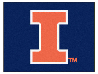 Illinois Fighting Illini Fan Mats All Star Floor Mat