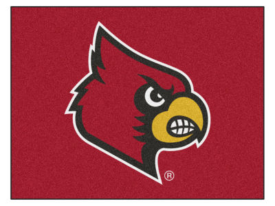 Louisville Cardinals Fan Mats All Star Floor Mat