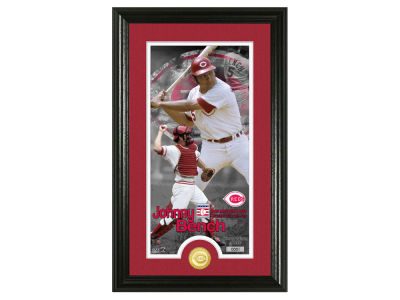 Cincinnati Reds Johnny Bench Highland Mint MLB Hall of Fame Supreme Bronze Coin Photo Mint