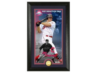 Cleveland Indians Jim Thome Highland Mint MLB Hall of Fame Supreme Bronze Coin Photo Mint
