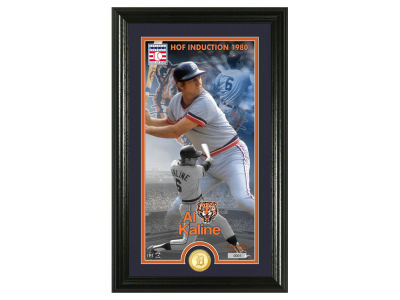 Detroit Tigers Al Kaline Highland Mint MLB Hall of Fame Supreme Bronze Coin Photo Mint