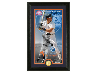 Detroit Tigers Alan Trammell Highland Mint MLB Hall of Fame Supreme Bronze Coin Photo Mint