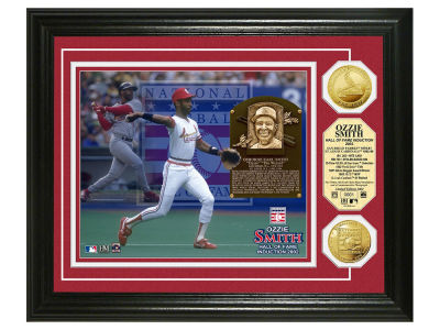 St. Louis Cardinals Ozzie Smith Highland Mint MLB Hall of Fame Gold Coin Photo Mint