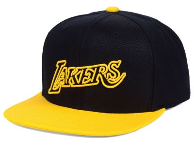 new styles 11254 13cdd ... amazon los angeles lakers mitchell ness nba team color neon snapback cap  01bb4 0e442