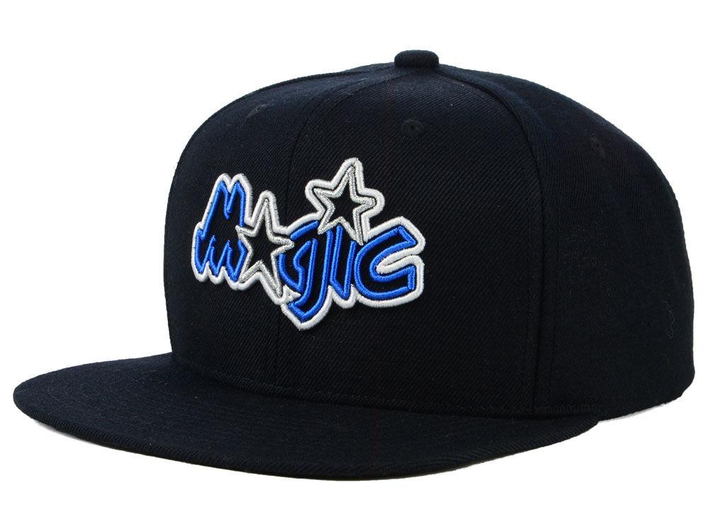9b4246aba4b Orlando Magic Mitchell   Ness NBA Team Color Neon Snapback Cap ...
