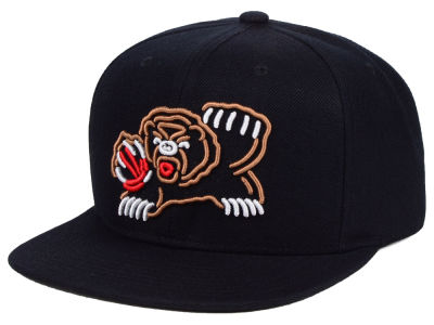 Vancouver Grizzlies Mitchell & Ness NBA Team Color Neon Snapback Cap