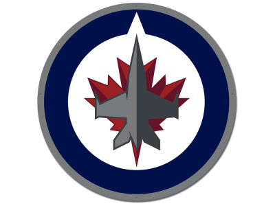 Winnipeg Jets Authentic Street Signs Large Steel Logo Street Sign