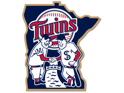 Minnesota Twins Authentic Street Signs Large Steel Logo Street Sign