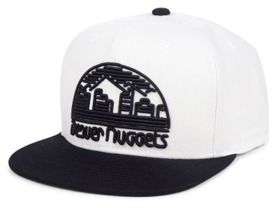 Denver Nuggets Mitchell & Ness NBA Con Neon Snapback Cap