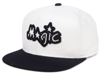 Orlando Magic Mitchell & Ness NBA Con Neon Snapback Cap