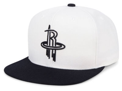 Houston Rockets Mitchell & Ness NBA Con Neon Snapback Cap
