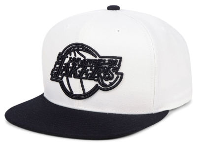 Los Angeles Lakers Mitchell & Ness NBA Con Neon Snapback Cap
