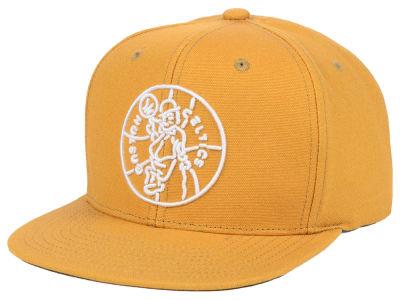 f74cf96bdb4 ... new style boston celtics mitchell ness nba wheat neon snapback cap  1cace 59606