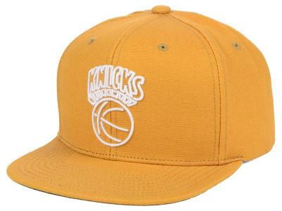eaaefbe6d2e44 New York Knicks Mitchell   Ness NBA Wheat Neon Snapback Cap