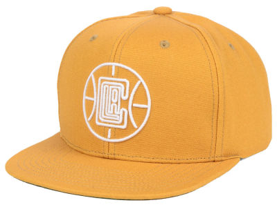 Los Angeles Clippers Mitchell & Ness NBA Wheat Neon Snapback Cap
