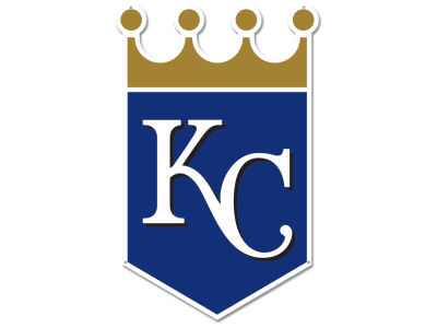Kansas City Royals Authentic Street Signs Large Steel Logo Street Sign